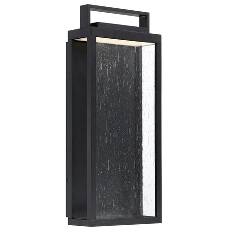 "Farmhouse 17"" LED Outdoor Wall Light - Black"