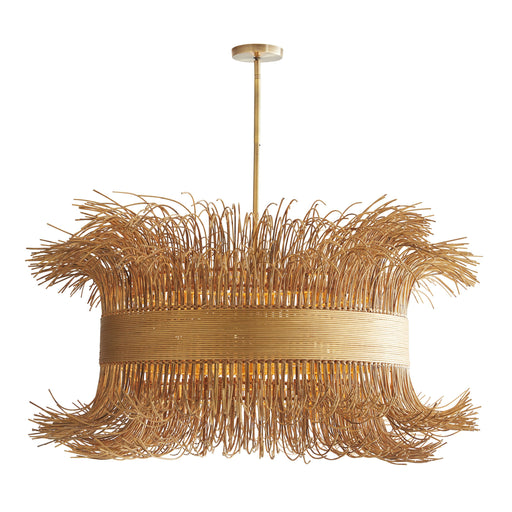 Filamento Chandelier - Gold Finish