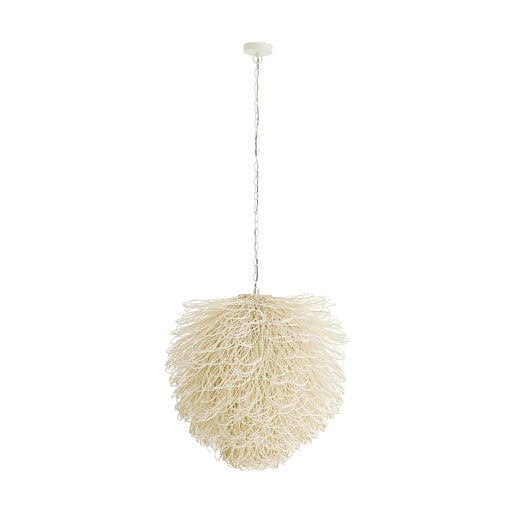 Finley Chandelier - White Finish