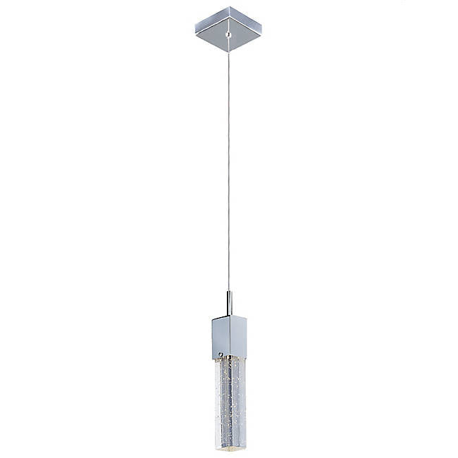 Fizz III LED Mini Pendant - Polished Chrome