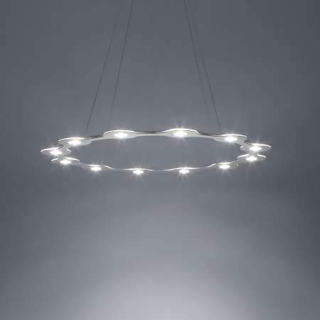Flat Ring 12 LED Pendant Light