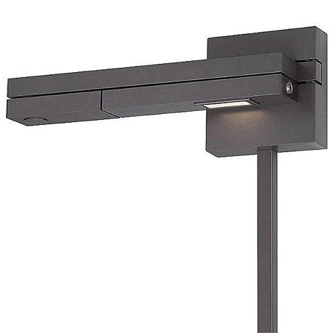 Flip Bronze dweLED Swing Arm Wall Light (Left)