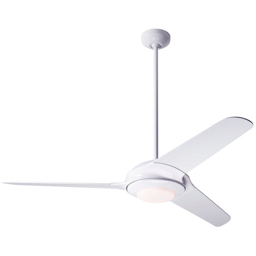 Flow Ceiling Fan - White (LED Light)