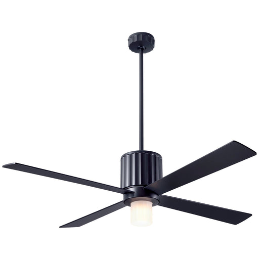 Flute Ceiling Fan - Black (LED Light)