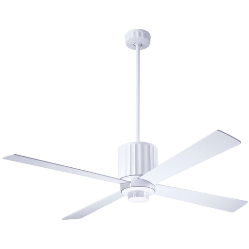 Flute Ceiling Fan - White (No Light)