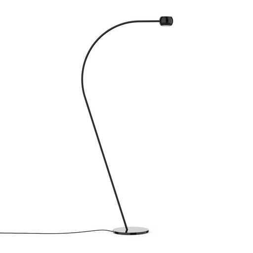 Flux LED Floor Lamp - Black Finish