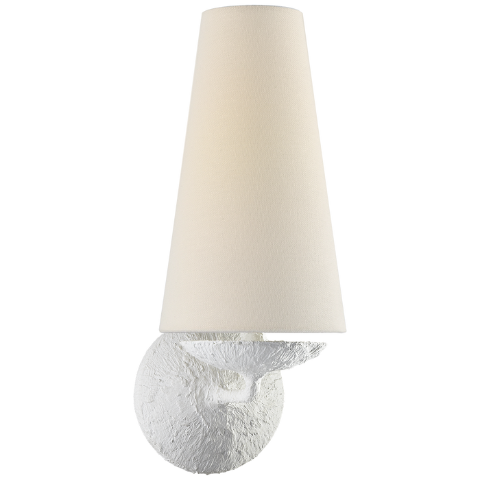 Fontaine Single Sconce - Plaster