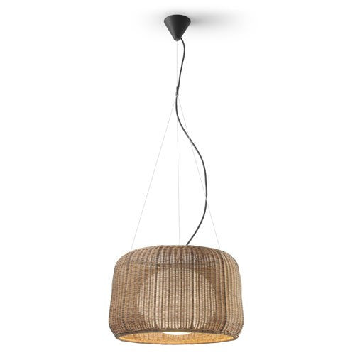Fora Outdoor Pendant Light - Graphite Brown