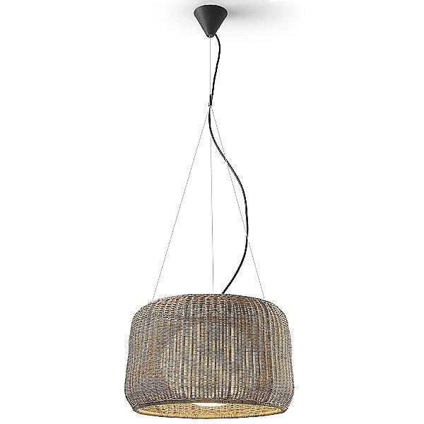 Fora Outdoor Pendant Light - Brown Graphite