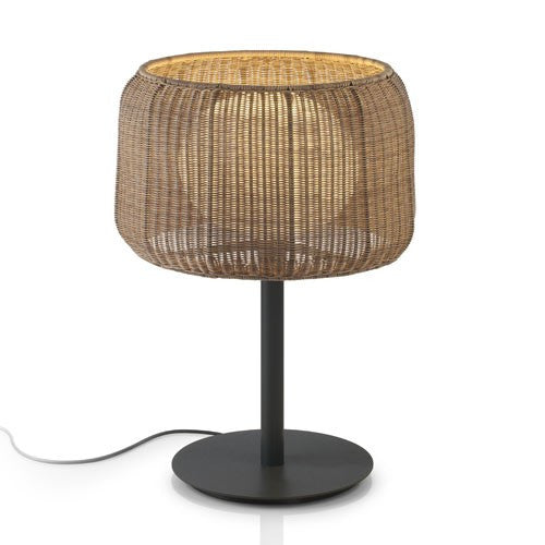 Fora Outdoor Table Lamp - Graphite Brown