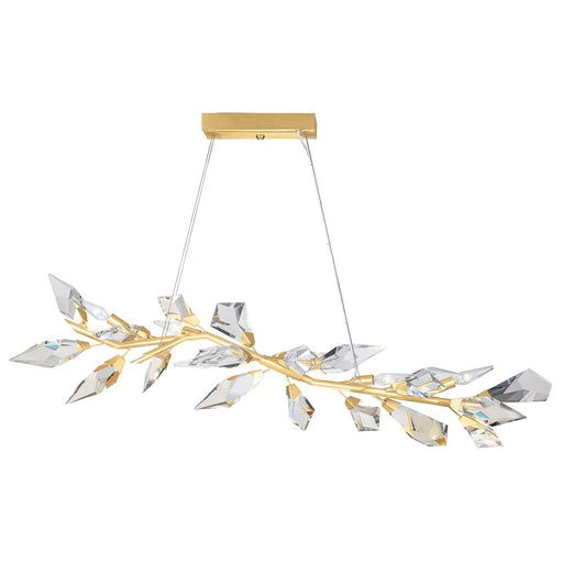 Foret Pendant 908340 - Gold Leaf Finish