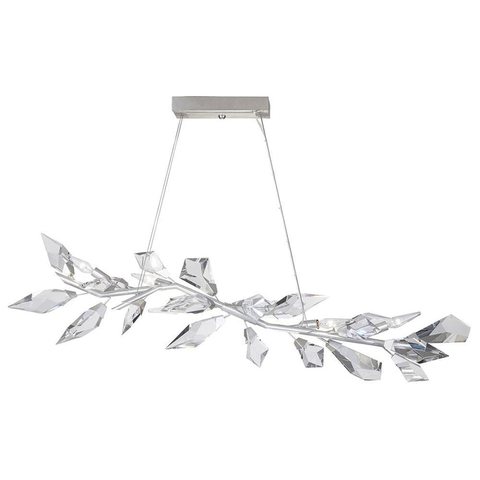 Foret Pendant 908340 - Silver Leaf Finish