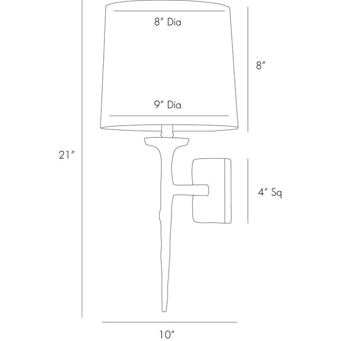 Franz Wall Sconce - Diagram