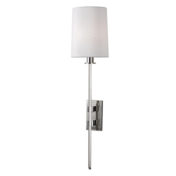 Fredonia Wall Sconce - Polished Nickel Finish