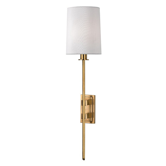 Fredonia Wall Sconce - Aged Brass Finish