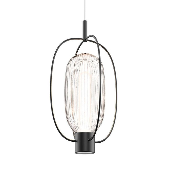 Friso Aro LED Pendant - Satin Black Finish