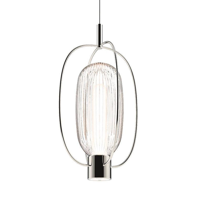 Friso Aro LED Pendant - Polished Nickel Finish