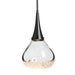 Fritz Teardrop Mini Pendant - Black Finish