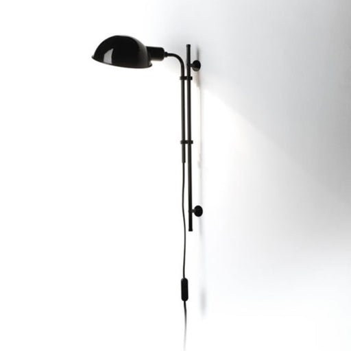 Funiculi A Wall Sconce - Black Finish