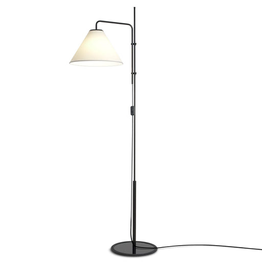 Funiculi Fabric Shade Floor Lamp - White (Shade)