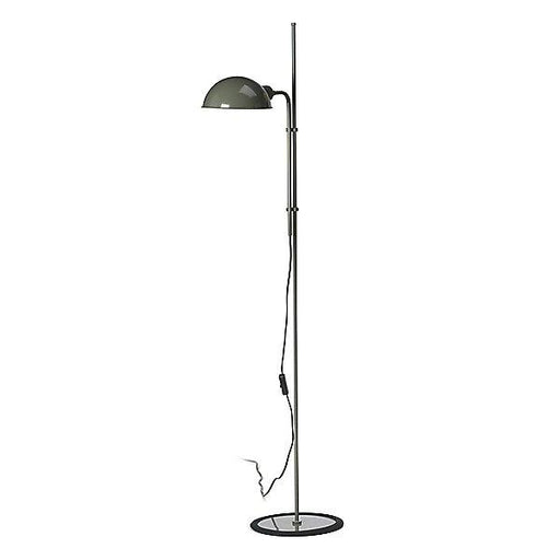 Funiculi Floor Lamp - Moss Grey Finish
