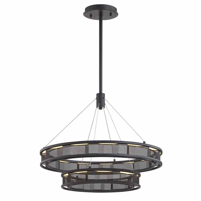 Fuze Small Chandelier - Bronze Finish