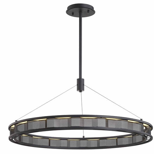 "Fuze 39"" Pendant - Bronze Finish"