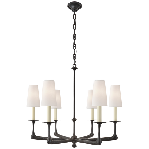 Gabriel Medium Chandelier - Aged Iron