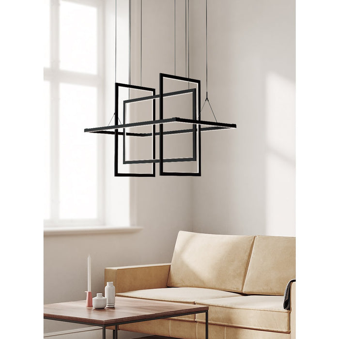 Geometry Large Linear Suspension - Display
