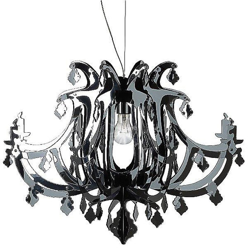 Ginetta Chandelier - Silver Finish