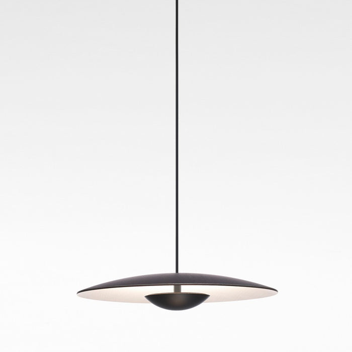 Ginger Small LED Pendant Light - Wenge Finish