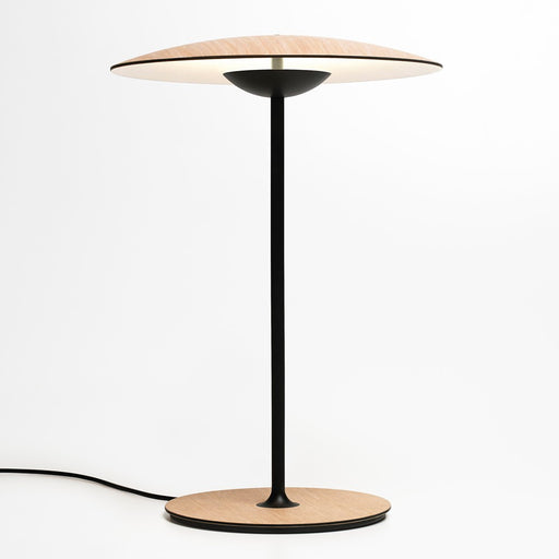 Ginger Small LED Table Lamp - Oak Finish