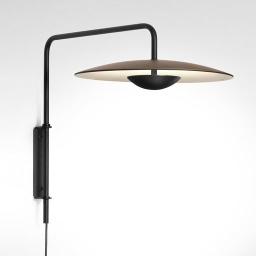 Ginger Plug-In LED Wall Light - Wenge Finish