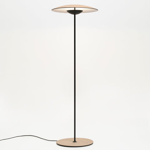 Ginger P LED Floor Lamp - Oak