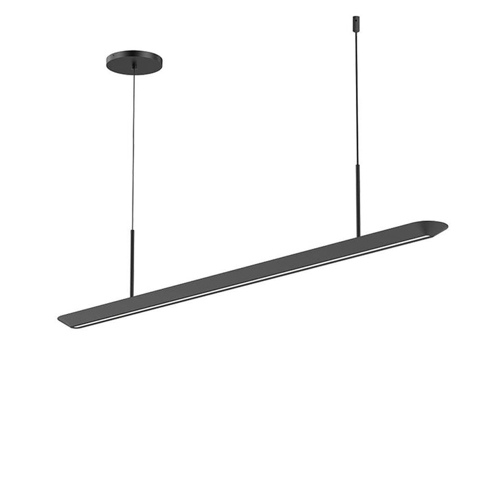 Glide LED Downlight Pendant - Satin Black