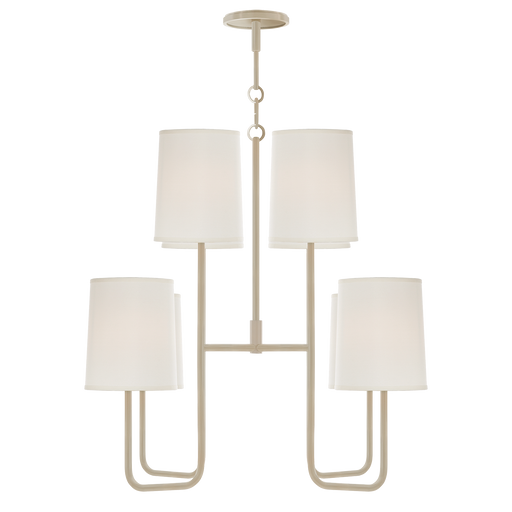 Go Lightly Medium Chandelier White