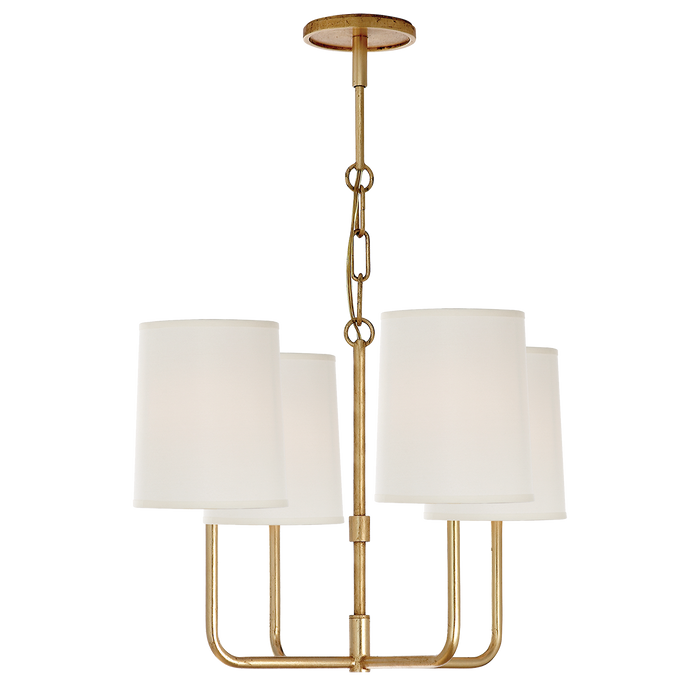 Go Lightly Small Chandelier Gold