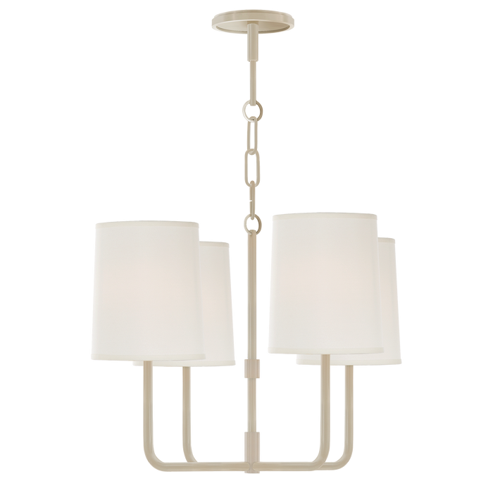Go Lightly Small Chandelier White