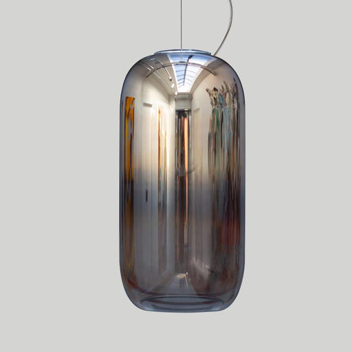 Gople Large Pendant - Chrome