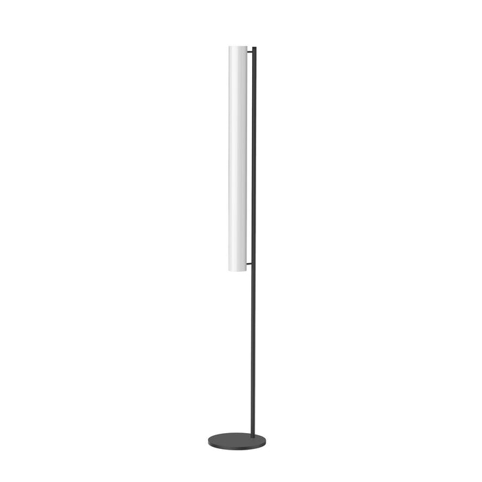 Gramercy Single Floor Lamp - Black Finish