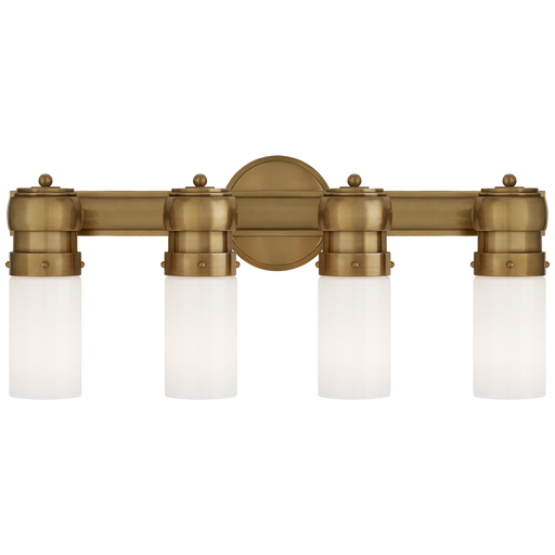 Graydon Medium Over The Mirror Bath Light - Hand-Rubbed Antique Brass Finish