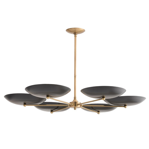 Griffith Chandelier - Bronze/Antique Brass Finish