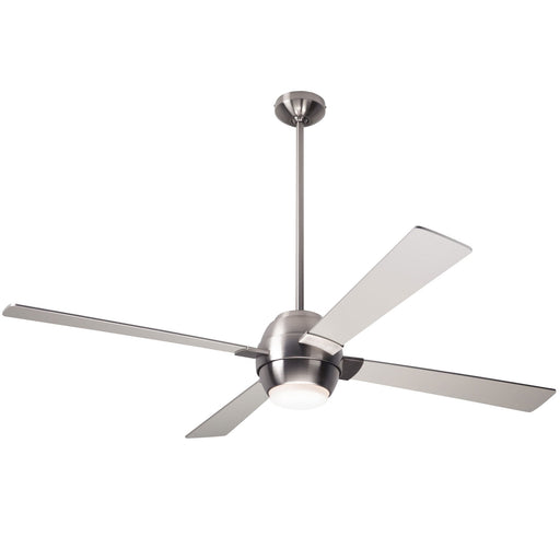 Gusto Ceiling Fan - Nickel (LED Light)