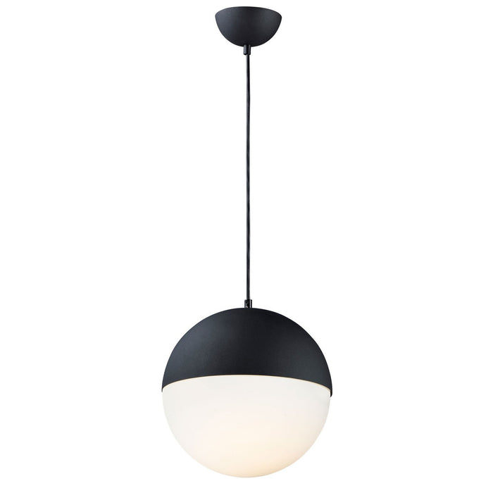 Half Moon Large Pendant - Black