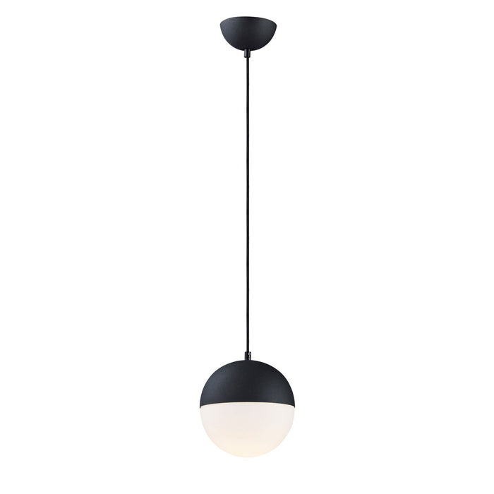 Half Moon Small Pendant - Black