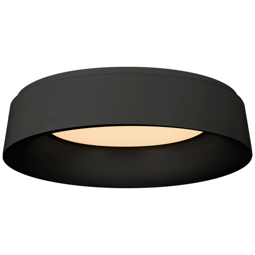 Halo Large Flush - Matte Black