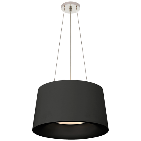 Halo Small Hanging Shade - Matte Black