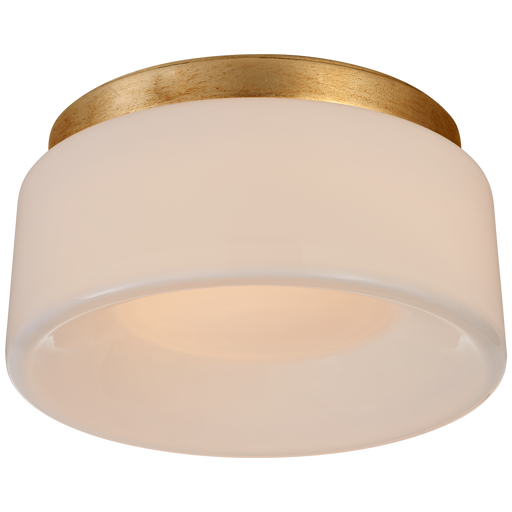 Halo Solitaire Flush Mount  - Gild