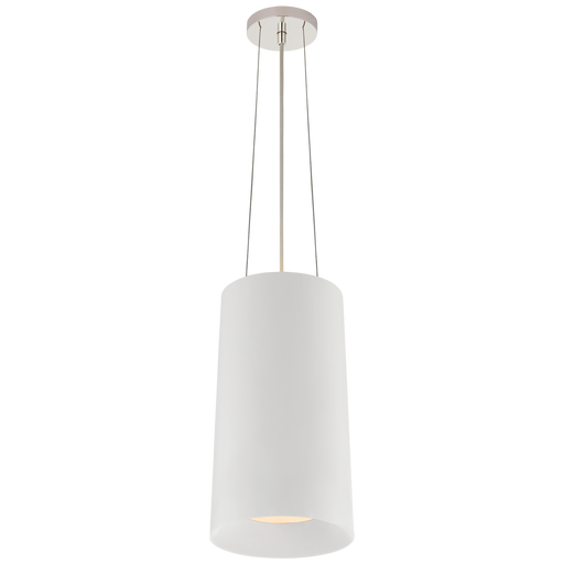 Halo Tall Hanging Shade - White