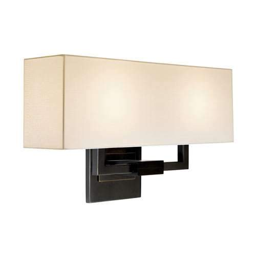 Hanover Wall Sconce - Black Brass
